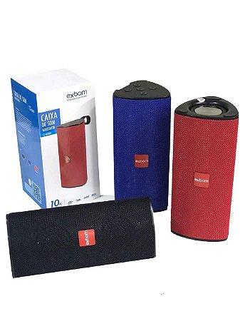 Caixa De Som Bluetooth Portátil 10W |Exbom CS-M33BT