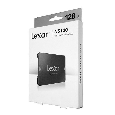 """HD SSD 128GB SATA III 2.5"""" 6GB/S NS100 - LEXAR"""