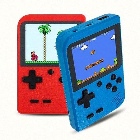 Vídeo Game Portátil Retrô 400 Jogos 8 bits   GC26-400