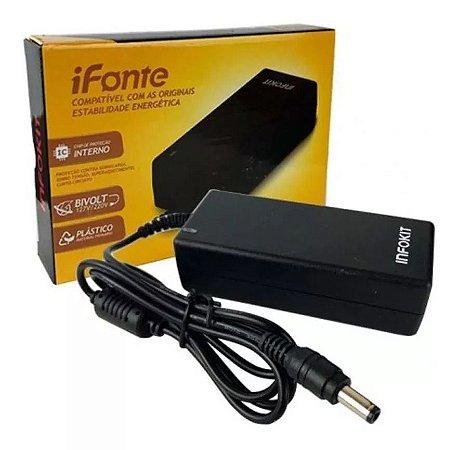 Fonte Chaveada 12V 5A Plug P4 5.5 X 2.5mm - Infokit