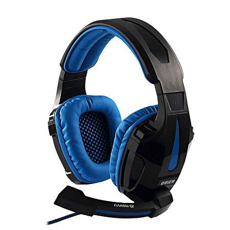 Fone Headphone Gamer Com Microfone e Led - Invons ID-700MVU