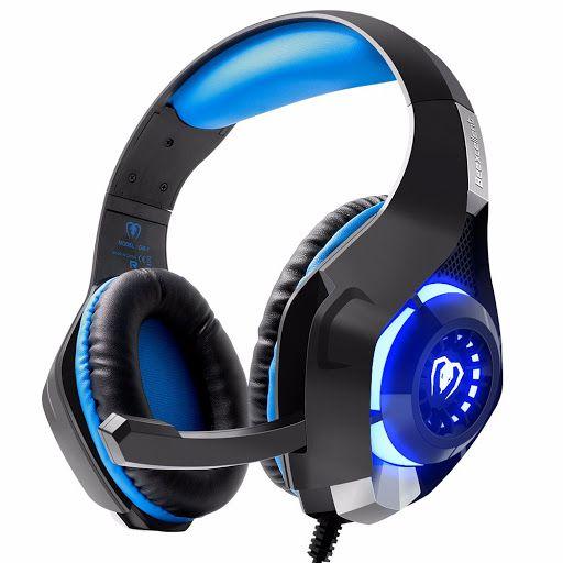 Fone Headphone Gamer Com Microfone e Led - Beexcellent GM-1