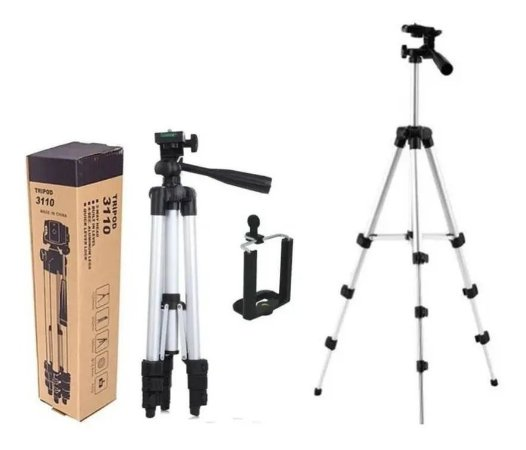 Tripé Universal P/ Câmera E Celular Telescópico 1,02M - 3110