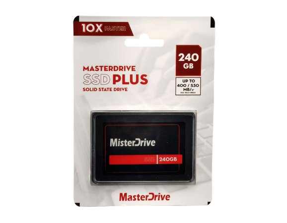 HD SSD 240GB SATA - MASTERDRIVE