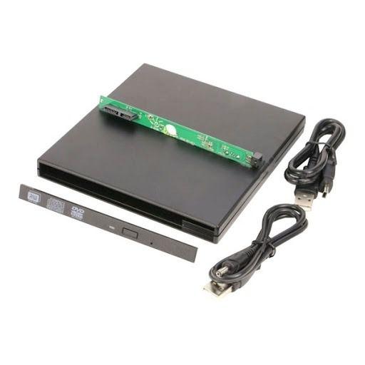 Case Para Drive De Dvd De Notebook 9.5mm Sata - Externo