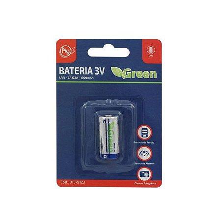 Bateria CR123A 3V 1300mah – GREEN
