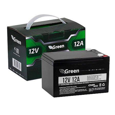 Bateria Selada 12V 12A - Green 013-1008