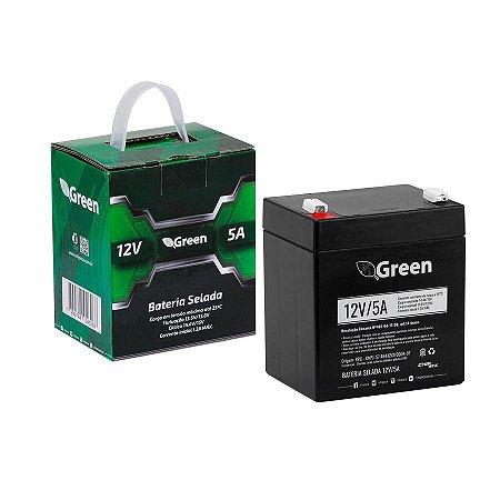 Bateria Selada 12V 5A - Green 013-1004