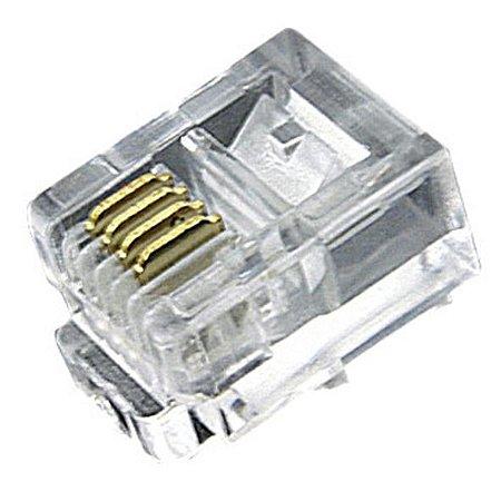 Conector RJ11 6x4