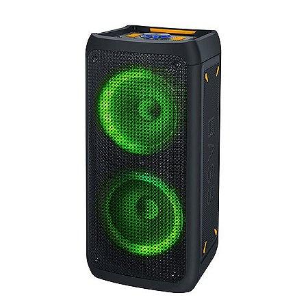 Caixa de Som Bluetooth Portatil Grande 40w Com Leds e Microfone - Avision A1-116