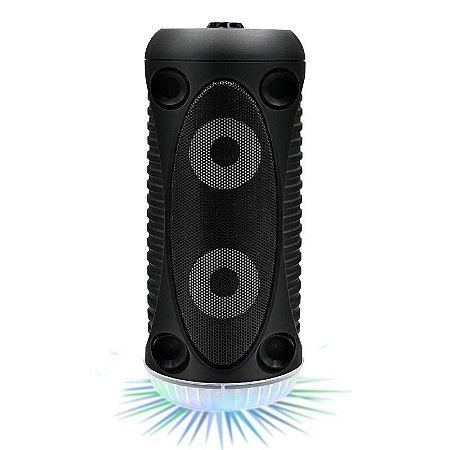 Caixa de Som Bluetooth Mp3 Fm Sd Usb Portatil 20w Rms C/ Led  - Avision A1-68