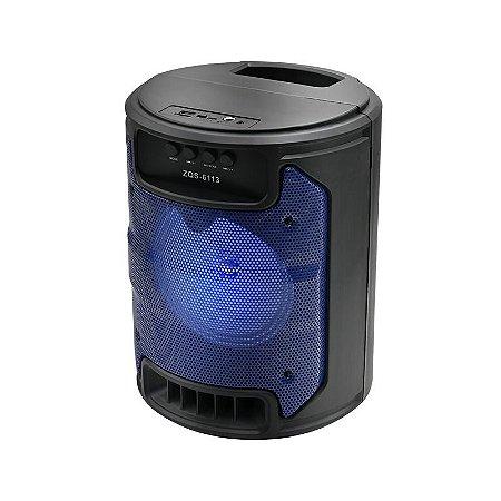 Caixa De Som Portatil 10W Rms Bluetooth SD/USB/FM - 6.5 pol - Avision A1-74