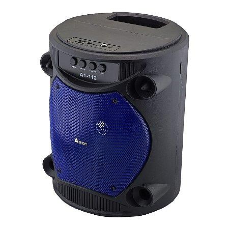 Caixa De Som Portatil 10W Rms Bluetooth SD/USB/FM - 6.5 pol - Avision A1-112
