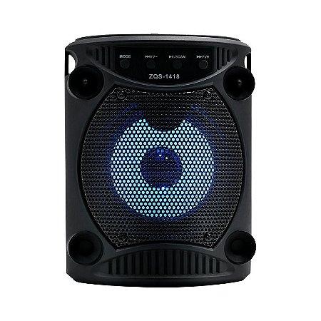 Caixa De Som Portatil 5W Rms Bluetooth SD/USB/FM - 4 pol. Avision A1-69