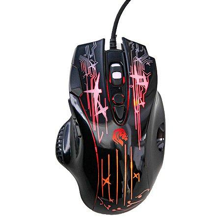 Mouse Gamer Led Rgb 8 Botões 2400dpi - Hayom MU2905