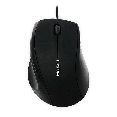 Mouse Usb Linha Office 1200dpi - Hayom MU2901