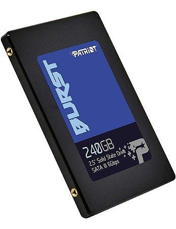 Hd Ssd 240gb Patriot Burst SATA III 6.0GB/S