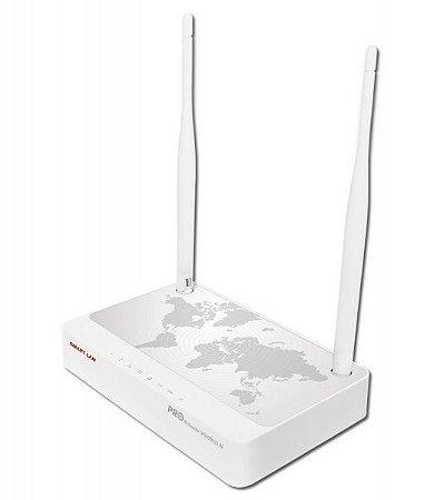 Roteador Wireless 300mbps 200mw 2 Antenas 5dbi Smart Lan Pro