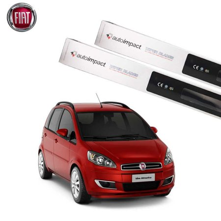 Kit Palheta Limpador Fiat Idea 2011-2016 - Auto Impact