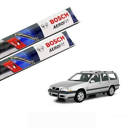 Palheta Limpador Parabrisa V70 1997 a 1999 Original Bosch