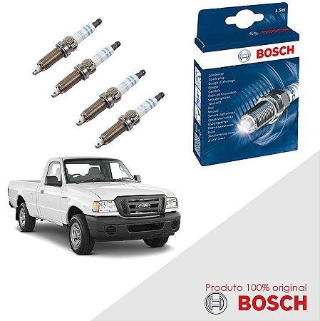 Kit Jogo Velas Bosch Ranger 4.0 6cc 12v SOHC EFI Gas 97-02