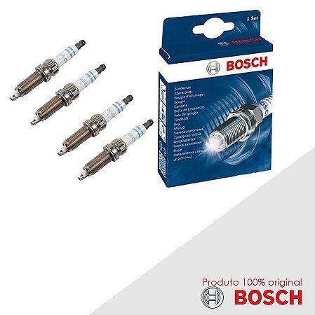 Kit Jogo Velas Original Bosch Polo Classic 1.8 8v Gas 98-00