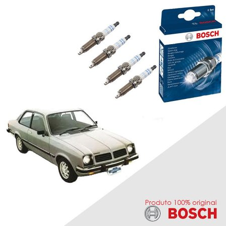 Jogo Velas Original Bosch Chevette Hatch 1.6 8v  Gas 82-88