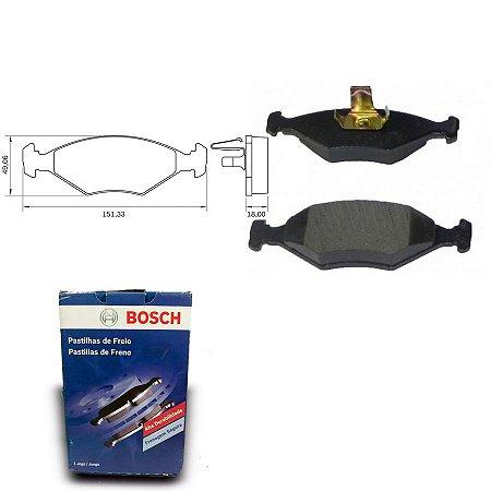 Pastilha Freio Dianteira Siena 1.3 MPI 8V  04-05 Bosch