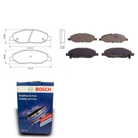 Pastilha de Freio Dianteira TG2da 1.8  10-13 Orig. Bosch