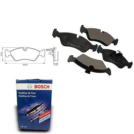 Pastilha de Freio Dianteira Vectra 2.2 MPFI 98-02 Bosch