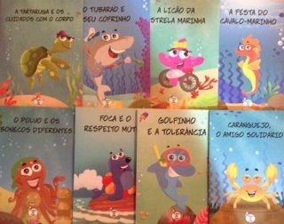 KIT TURMA DO TUBA - 8 LIVROS - FRETE GRÁTIS!!!!