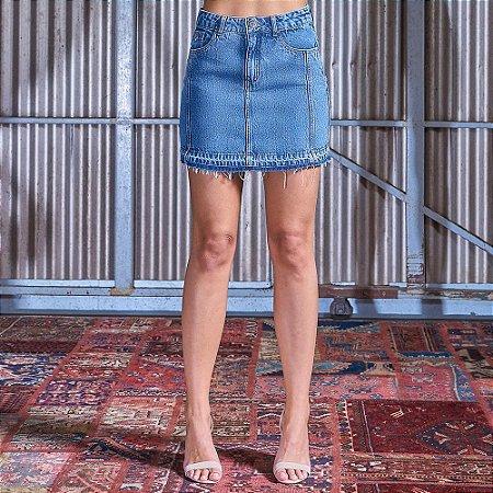Mini-Saia Jeans