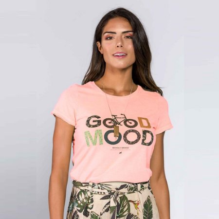 Camiseta Feminina Good Mood
