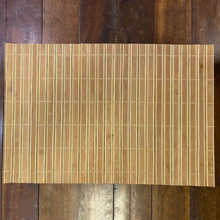 Jogo Americano Bambu Bege