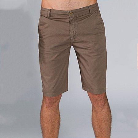 Bermuda Masculina Casual Sarja