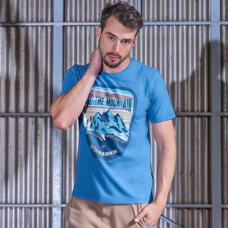 Camiseta Masculina Mountain