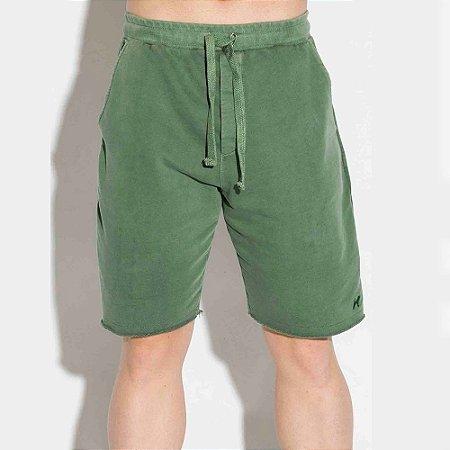 Bermuda Masculina Moletom Verde