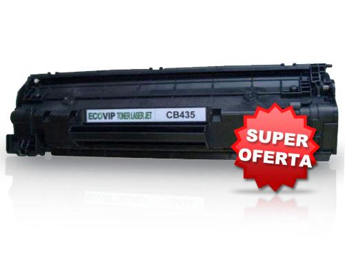 Toner Para Impressora Hp Laserjet - Cb435 Compatível Novo - Ecovip