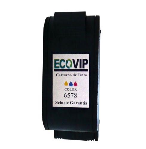Cartucho Para Impressora Hp Deskjet 920 - Hp 78 (c 6578) Compatível Novo - Ecovip