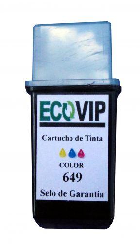 Cartucho Para Impressora Hp Deskjet 610 / 680 - Hp 49 (649) 51649 Compatível Novo - Ecovip