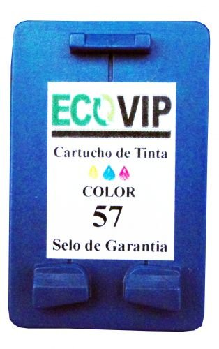 Cartucho Para Impressora Hp Officejet 4110 - Hp 57 (c6657) Compatível Novo - Ecovip