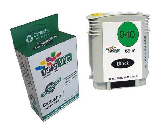 Cartucho Hp 940 Xl Preto Compatível Datavip