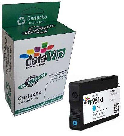 Cartucho Hp 951 Xl Cyan Compatível Datavip