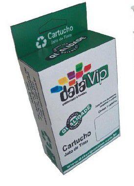 COMBO CARTUCHO DE TINTA COMPATÍVEL COM HP 60XL 60 PRETO ECOLORIDO CC641WB | C4680 C4780 D1660 F4280 F4580 F4480 14ML Datavip