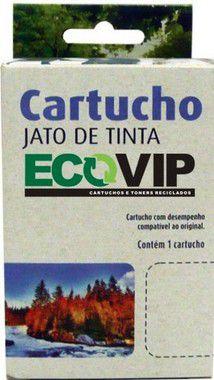 COMBO CARTUCHO DE TINTA COMPATÍVEL COM HP 60XL 60 COLOR E BLACK CC644WB | F4480 F4580 F4280 D1660 C4780 C4680 - ECOVIP