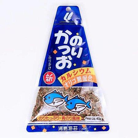 Furikake Triângulo Katsuo Azul Escuro