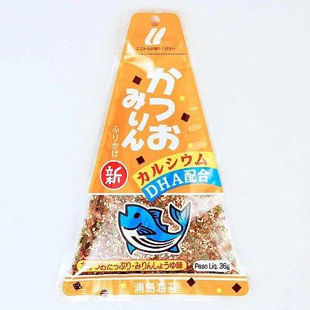 Furikake Triângulo Katsuo Mirim Laranja
