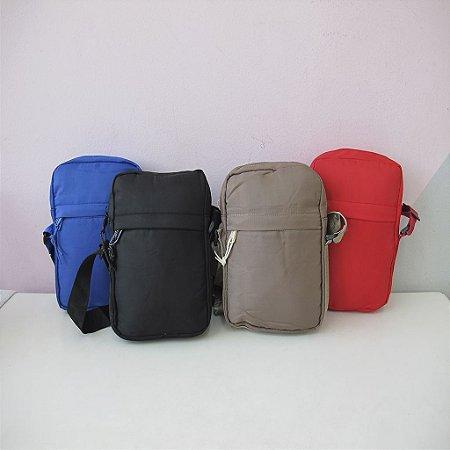 Bolsa Tiracolo Shoulder Bag Unissex Nylon Lisa