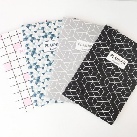 Planner Caderno Geométrico