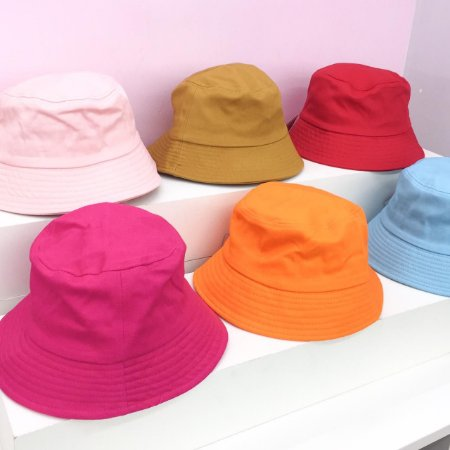 Chapéu Bucket Tecido Colorido
